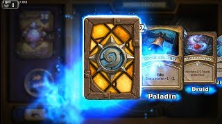 Wing Blast - The Witchwood Hearthstone rare card pack opening
