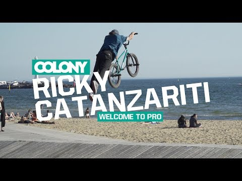 We are stoked to announce Ricky Catanzariti getting the bump up to Pro for Colony. Rick time after time blows our minds when riding and has a good head on his shoulders so the time seemed right...