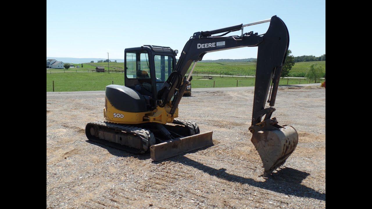 John Deere 50D Mini Excavator!