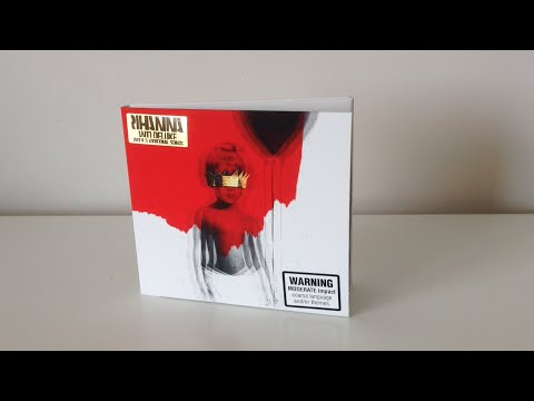 UNBOXING: Rihanna - ANTI (Deluxe Edition)