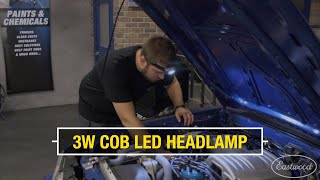 3W COB LED Headlamp - Super Bright Headlamp to Keep Both Hands Free While Working - Eastwood