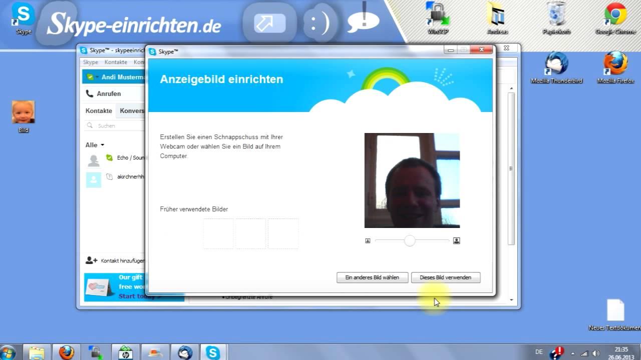 skype profilbild