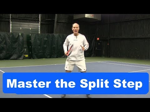 Tennis Instruction: Cover the Court like a Pro Developing your Split Step