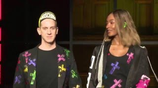 Moschino F/W17 Menswear and Women's Pre-Collection fashion show!