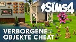 Die Sims 4: Verborgene Objekte freischalten - Debug Cheat