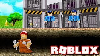 ESCAPANDO DA PRISÃO no PRISON ESCAPE SIMULATOR → Roblox 🎮
