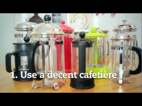 5 Steps To Perfect Cafetière Coffee Cafédirect Youtube