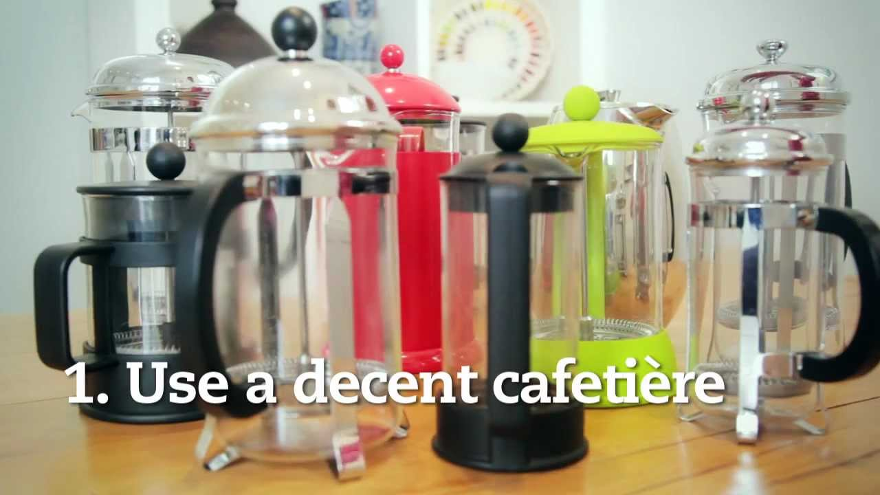 5 Steps To Perfect Cafetière Coffee Cafédirect