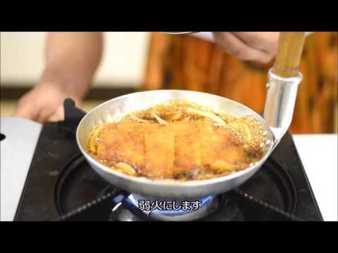 人気食堂の美人女将が教える、美味しいカツ丼の煮込み方