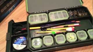 Greys Prodigy Tackle Base Compact Review - Klip-Lock Fishing Box