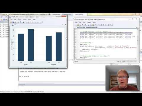 Using Stata to Create Bar Graphs