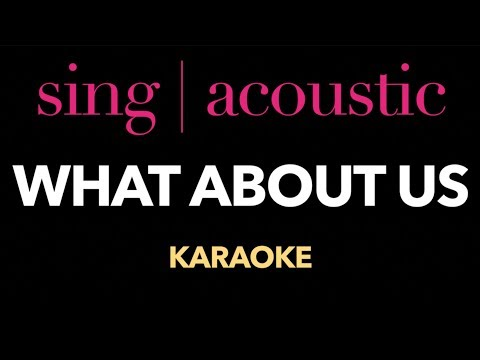 Pink - What About Us (Karaoke/ Instrumental/ Lyrics)