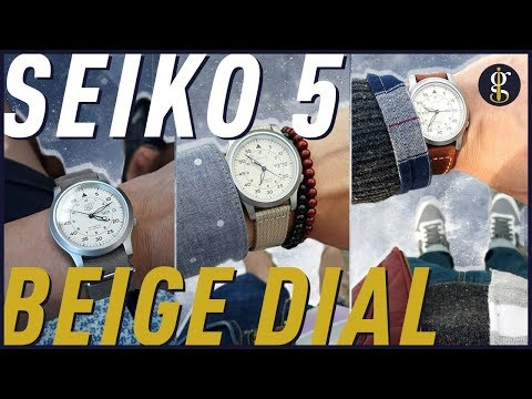 Seiko 5 Review (SNK803 Beige Dial) | Automatic Watch Under $100