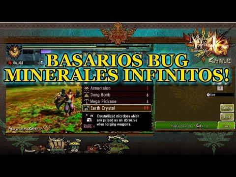 Basarios Bug: MINERALES INFINITOS!