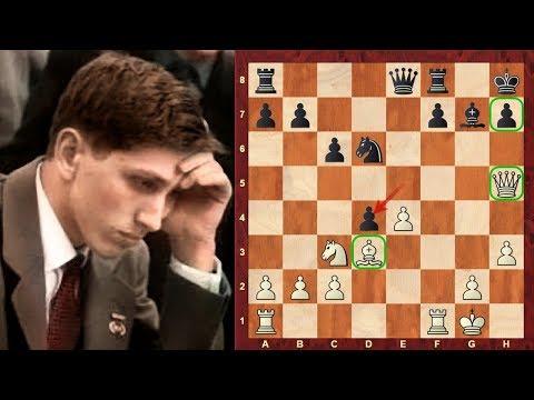 Amazing Chess Game: Bobby Fischer's Pirc Defence Immortal vs Benko - US Ch. 1963 - Austrian Attack