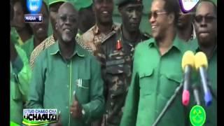 Magufuli Na Kikwete Wakicheza Wimbo Wa Yamoto Band Mwanza