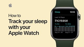 How to track your sleep with your Apple Watch - Apple Support