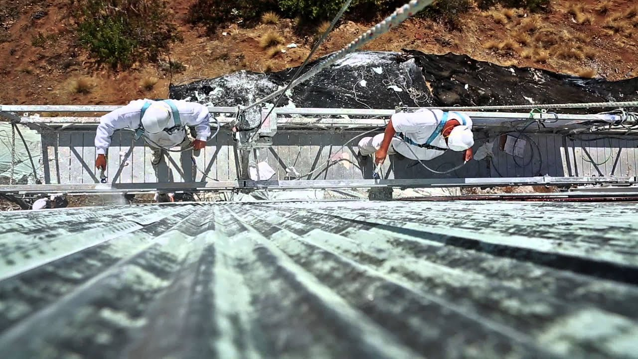 Time-lapse video of Hollywood Sign refurbishment - Sherwin ...