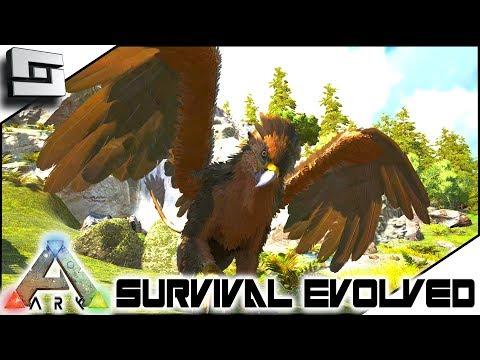 ARK: Survival Evolved - TAMING A GRIFFIN! E3 ( Ark Ragnarok Map )