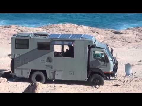 extreme off road 4x4 camper truck gascoyne trip off grid overland expedition