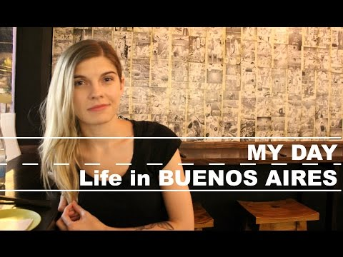 My Day Vlog #0.1 - Buenos Aires life