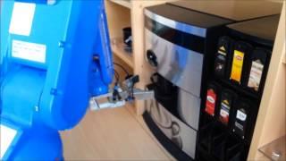 Roboter Kaffee / Tee Bar von AKON Robotics
