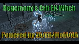 Path of Exile Act 4: Build Guide: Crit EK with EB MoM & ZA + AA!!