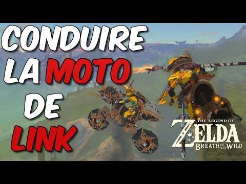 COMMENT AVOIR LA MOTO DANS ZELDA BREATH OF THE WILD DLC 2 SECRETS #358