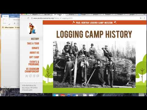 Eau Claire to Potlatch: Lumber to Education--Digital Environments and the Journey West Pt. 1
