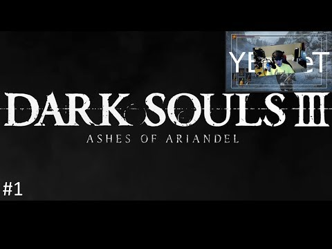 Dark Souls 3 / Ashes of Ariandel / Walkthrough / Let`s Play / Gameplay / Noob / Clean / Part 1