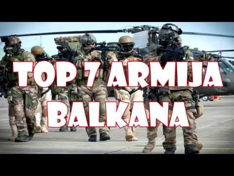 Top 7 armija Balkana [2016]