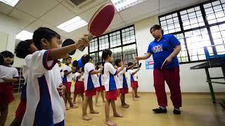 STTA Pre School Table Tennis Programme
