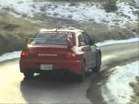 Fumio Nutahara - Daniel Barritt (Mitsubishi Lancer Evo IX) - Rallye Monte Carlo 2006
