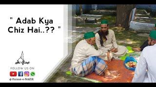 Adab Kya Chiz Hai | Short Clip | Shah Hafiz HAMIDULLAAH Shah Sahab Maddazilhul A'ali
