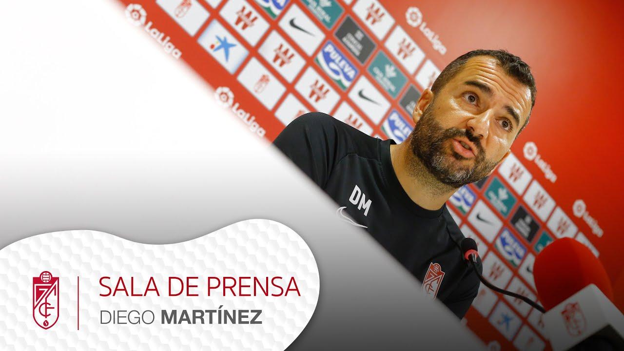 Sala de prensa | Previa de Diego Martínez (Real Sociedad vs Granada CF)