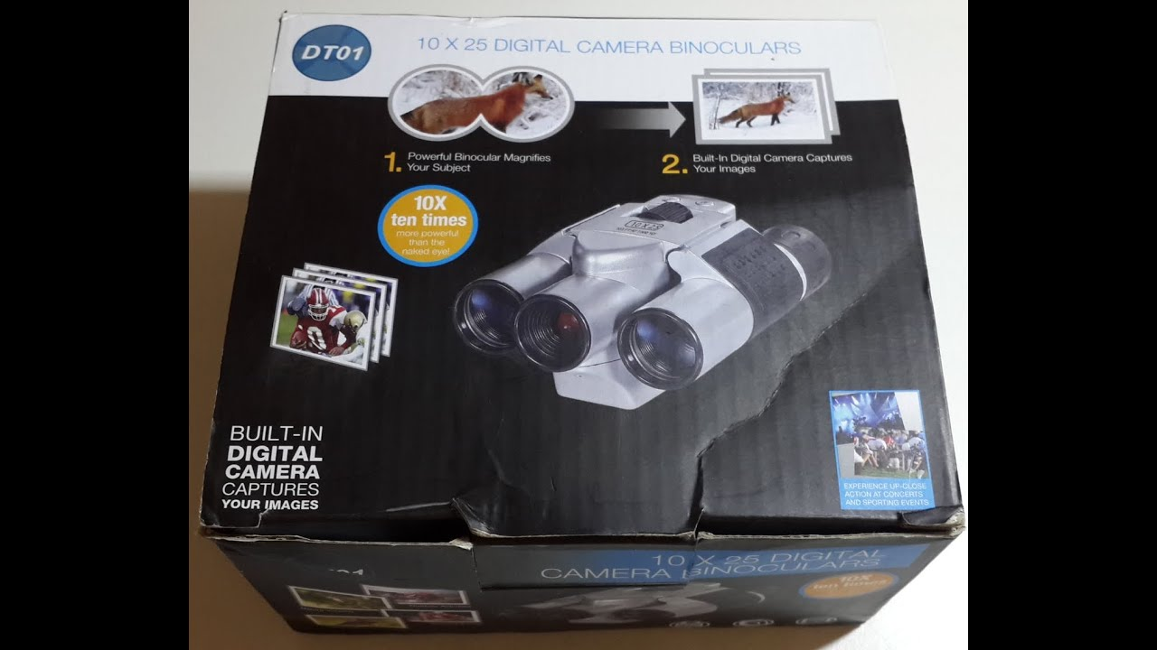Binoculars Digital Camera 10x25 бинокль фотоаппарат Youtube