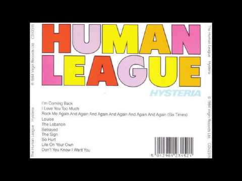 The Human League - Hysteria (1984) full album
