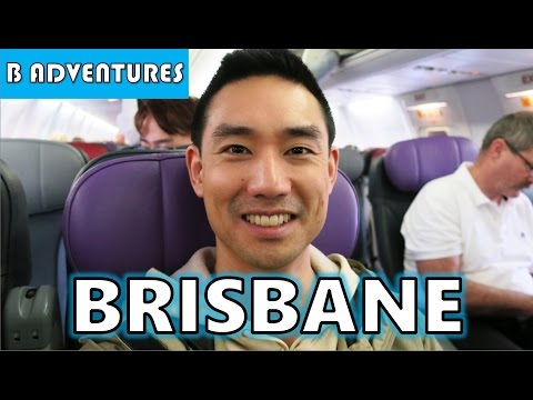 Flight to Brisbane City, Queensland, AU Vlog #13