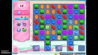 Candy Crush Level 513 Audio Talkthrough, 3 Stars 0 Boosters