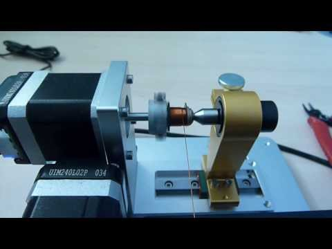 Testing RM8 Bobbin On Mini Coil Winder