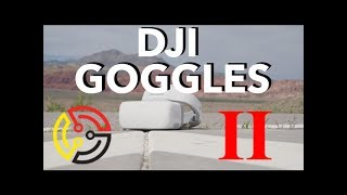 The Digital Circuit - DJI Goggles FPV And Head Tracking Test!