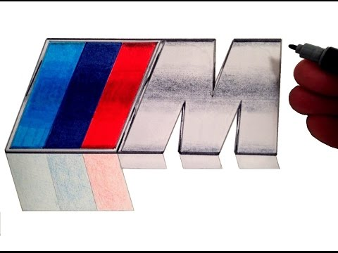 How to Draw the BMW M Logo