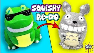 LOST Video!! Totoro Squishy Remake! Doctor Squish