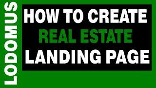 Comment Créer de l'Immobilier de la Page de destination avec Wordpress