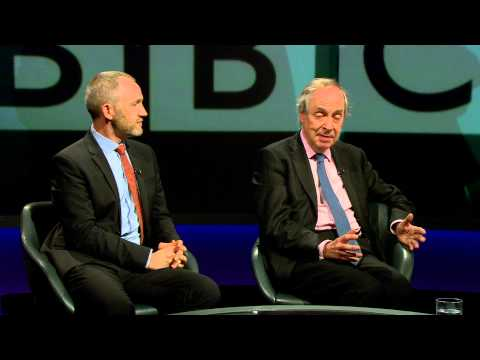 Purnell and Glover on the future of the BBC - Newsnight