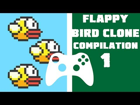 Xbox Live Indie Games - Flappy Bird Clone Compilation 1