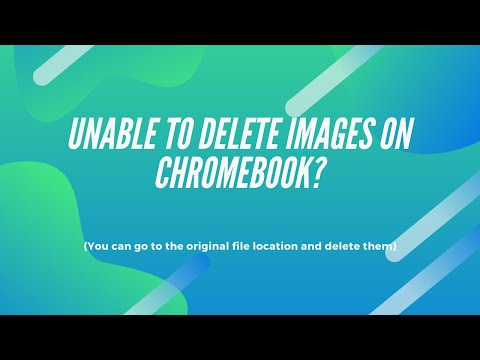 Unable to Delete Images on Chromebook? Try This
