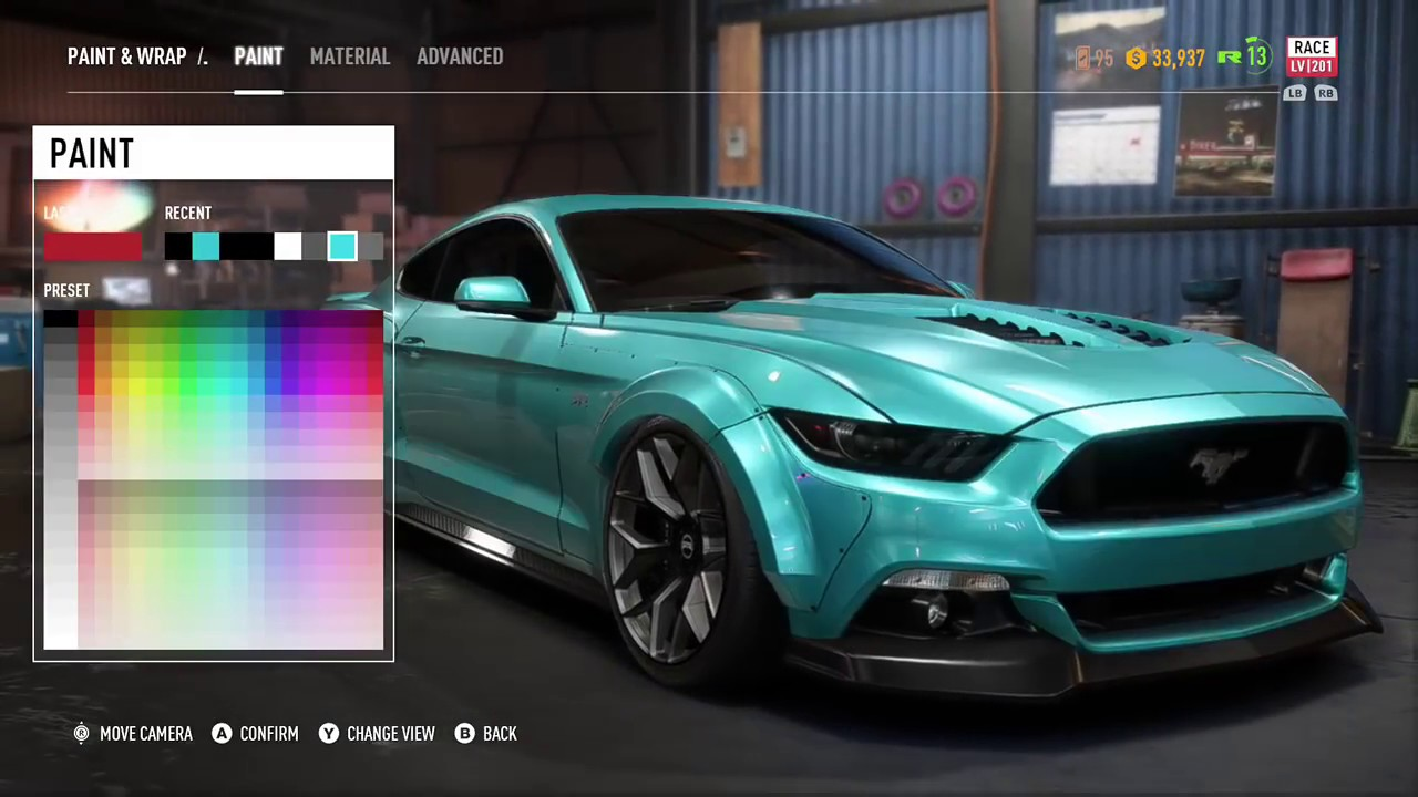2017 Mustang Gt Premium >> NFS PAYBACK - Ford Mustang GT customization - YouTube