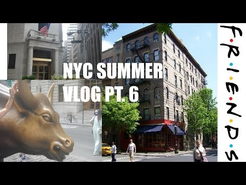 Wall street & FRIENDS BUILDING l Nyc Summer Vlog pt. 6