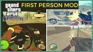 How to Download and Install First Person Mod in Gta San Andreas